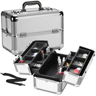 Seya Heat Resistant Pro Silver Aluminum Makeup Case