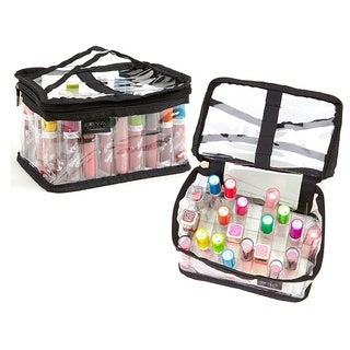 Seya Clear PVC Makeup Cosmetic Organizer Bag