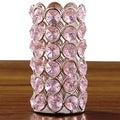 Pink Crystal Beaded Tealight Holder
