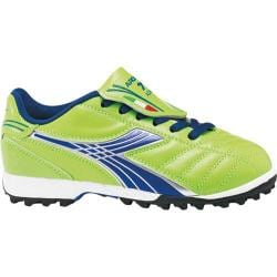 Boys' Diadora Forza TF Jr Lime Green/Dark Royal
