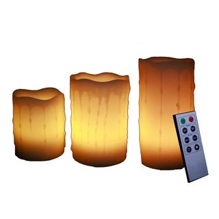 LED Flameless Pillar Candles