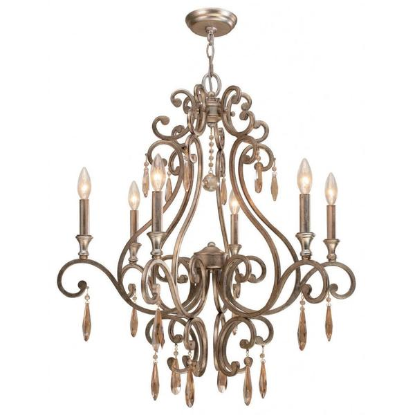 Shelby 6-light Distressed Twilight Chandelier