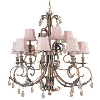 Royal 8-light Florintine Bronze Chandelier