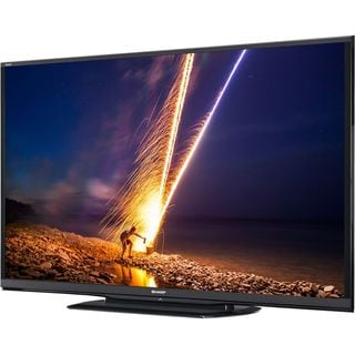 "Sharp AQUOS LC-90LE657U 90"" 3D 1080p LED-LCD TV - 16:9 - HDTV 1080p -"