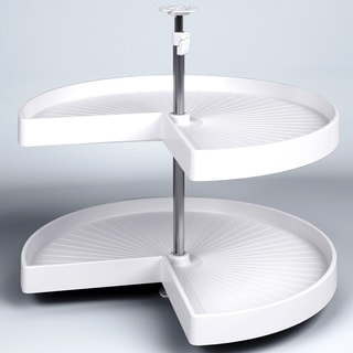Vauth-Sagel Lazy Susan with White Kidney Rotating Trays