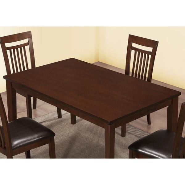 Details about antique oak veneer rectangular dining room table solid