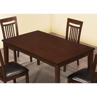 Antique Oak Veneer Rectangular Dining Table