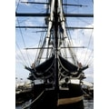 'US Military Nautical Vessel, USS Constitution, Boston, Massachusetts' Photography Canvas Print