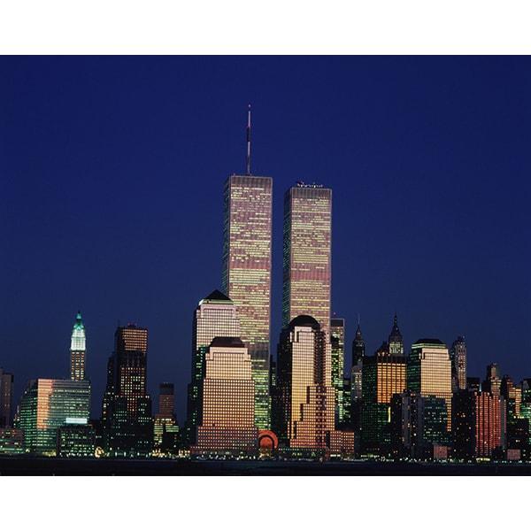 'World Trade Center, New York City' Photography Canvas Print