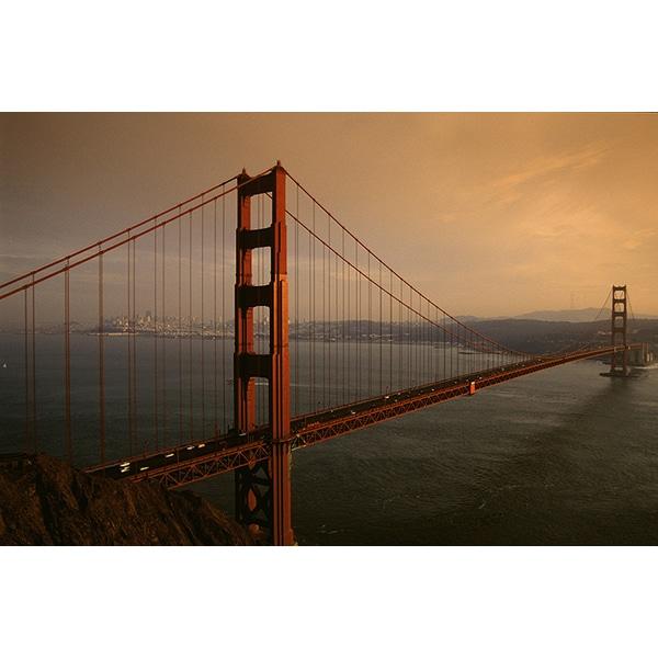 Golden Gate Bridge San Francisco California Sunset Picture: 'Golden Gate Bridge At Sunset, San Francisco, California