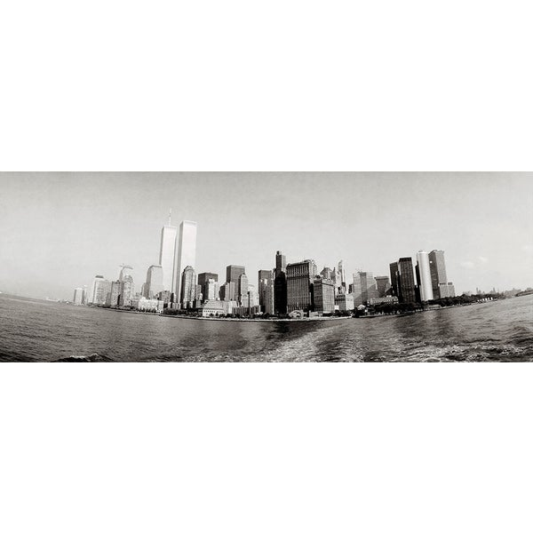'Panoramic Manhattan, New York City' Photography Canvas Print