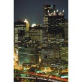 'Pittsburgh, Pennsylvania Cityscape' Photography Canvas Print