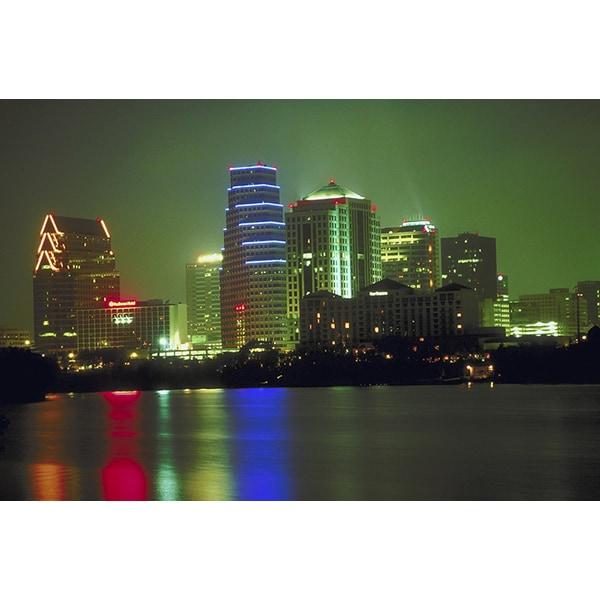 'Cityscape Austin, Texas' Photography Canvas Print