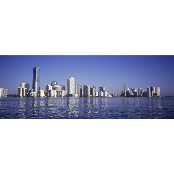 George Doyle 'Miami, Florida Panoramic' Photography Canvas Print