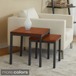 Contemporary Nesting Tables (Set of 2)