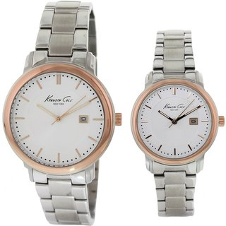 Kenneth Cole Women's Stainless Steel White Dial Watch