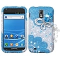 BasAcc Premium 3D Diamante Case for Samsung T989 Galaxy S II
