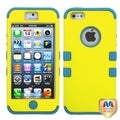 BasAcc Yellow/Tropical Teal TUFF Case for Apple iPhone 5
