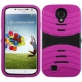 BasAcc Black/ Hot Pink Wave Case for Samsung Galaxy S4