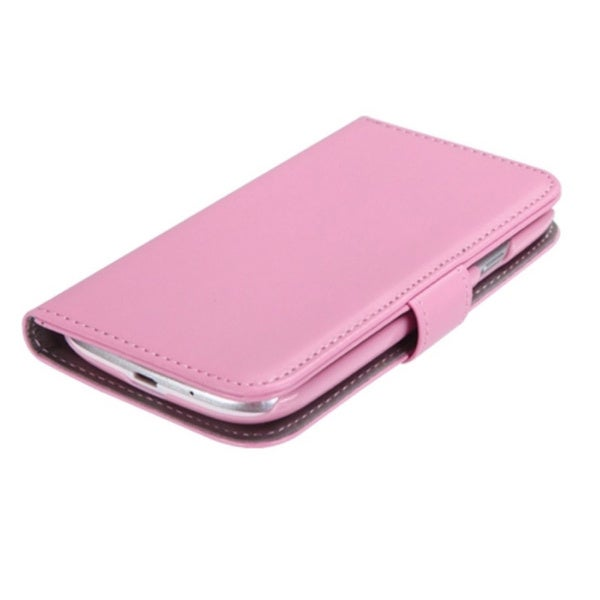 INSTEN Pink Book-Style Phone Case Cover for Samsung Galaxy S3