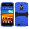 BasAcc Black/ Blue Wave Case for Samsung Galaxy S2