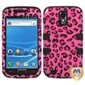 BasAcc Pink Leopard Skin/ Black TUFF Case for Samsung Galaxy S2