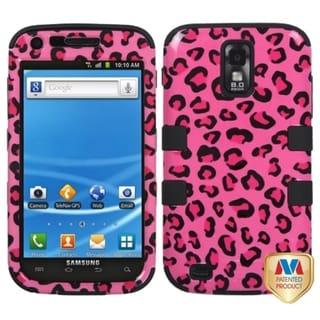 BasAcc Pink Leopard Skin/ Black TUFF Case for Samsung Galaxy S2
