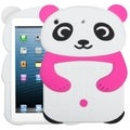 BasAcc White Panda with Hot Pink Hands Case for Apple iPad Mini