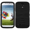 BasAcc Black/ Black Case with Stand for Samsung Galaxy S4