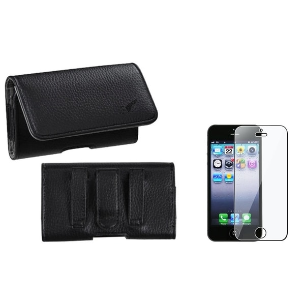 INSTEN Pouch-Style iPod Case Cover/ Screen Protector for Apple iPod Touch 5