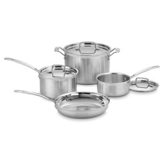Cuisinart Multicald Triple-ply 7-piece Cooking Set