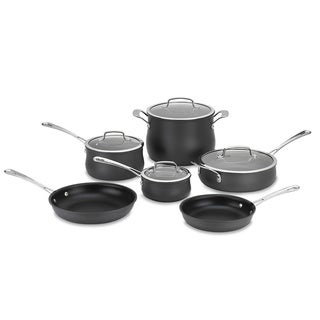 Cuisinart Contour Hard Anodized 10-piece Cookware Set