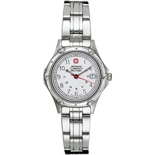 Wenger Women's Standard Issue Classic White Dial Watch