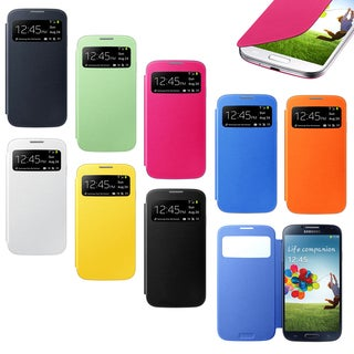 Gearonic Smart Cover Replacement Back Case for Samsung Galaxy S4 i9500