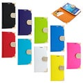Gearonic Luxury Wallet PU Leather Case for Samsung Galaxy S4 i9500