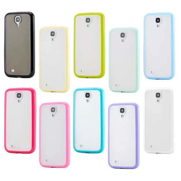 Gearonic TPU Frame Matte PC Back Case for Samsung Galaxy S4 i9500 11633924