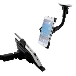 Gearonic Car Mount Rotating Holder for Samsung Galaxy S4 Mini i9190