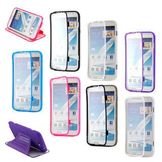 Gearonic Samsung Galaxy Note 2 TPU Case with Screen Protector
