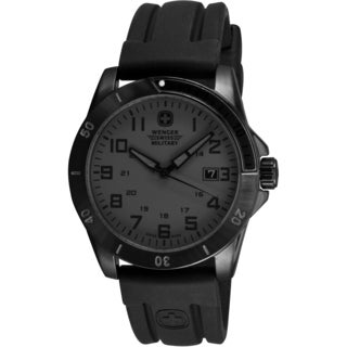 Wenger Men's Avalanche Blackout PVD Watch