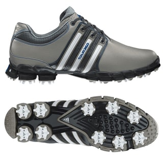 Adidas Men's Tour 360 ATV M1 Aluminum/ White/ Satellite Golf Shoes