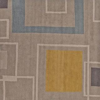 Hand-tufted Ashwood Wool Rug (8' Round)
