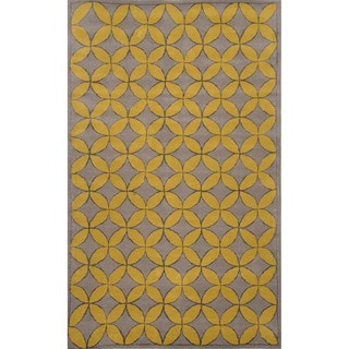 Hand-tufted Ashwood Wool/ Silk Rug (8' x 10')