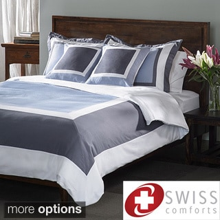 Swiss Comforts Cotton 5-piece Duvet Cover Set