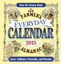 The Old Farmer's Almanac 2015 Everyday Calendar (Calendar)