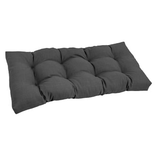 Blazing Needles Outdoor Spun Poly Loveseat Cushion