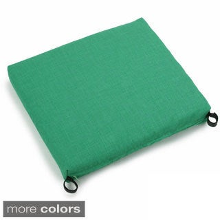 Blazing Needles Outdoor Spun Poly Chair/Rocker Cushion