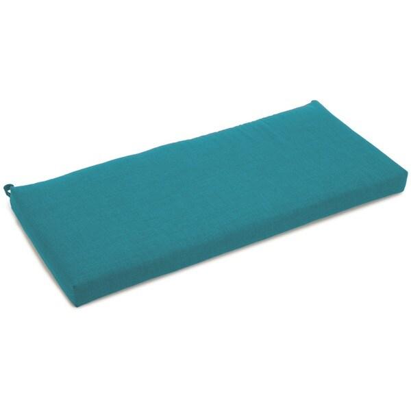 Blazing Needles Outdoor Spun Poly Bench Cushion