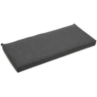 Blazing Needles Outdoor Spun Poly Bench Cushion