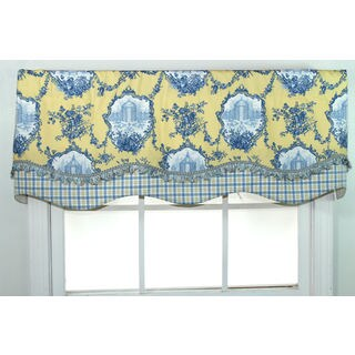 Garden Dream Porcelain Glory Valance