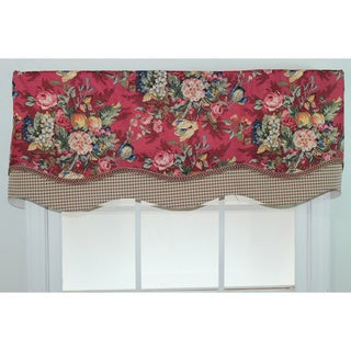 Eternity Ruby Glory Shaped Valance